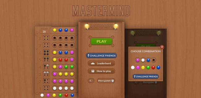 Mastermind Brädspel Online