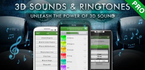 3D ljud och ringsignaler