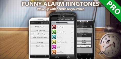 Roliga Alarmsignaler Android