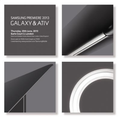 Nya Samsung Galaxy och Ativ mobiler 2013