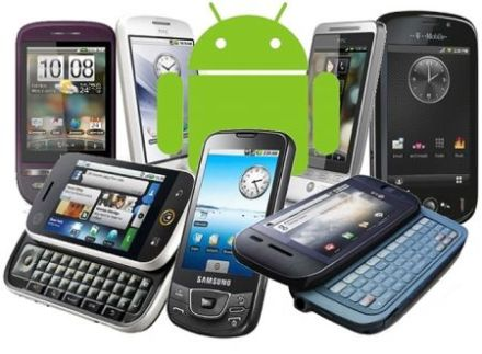 Välja Android Telefon