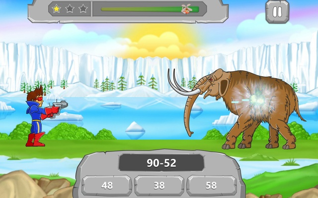 Math vs Dinosaurs Screenshot 1