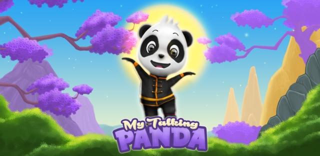 Min Talande Panda - Barnspel