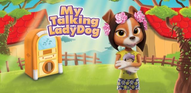 Min Talande Hund Ada Barnspel