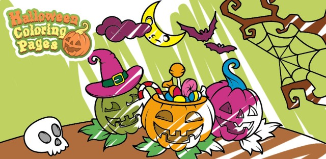 Målarbilder Halloween